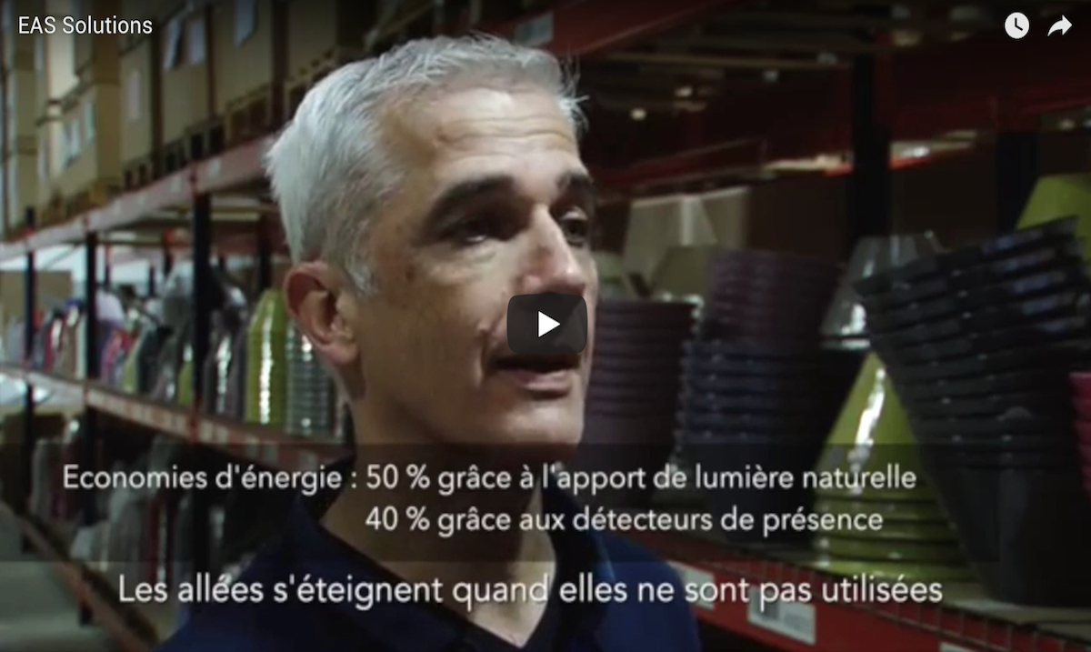 EAS Solutions Eclairage Led Professionnel Bordeaux Video Yt 295