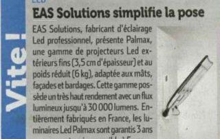 EAS Solutions Eclairage Led Professionnel Bordeaux Article15 520